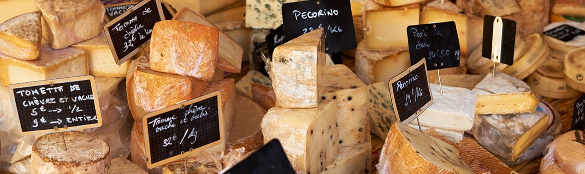 Fromages et confitures