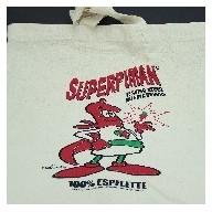 Sac Toile Coton Superpiman