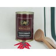 Salchichas confitas Montauzer