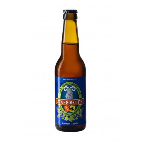 Akerbeltz Amber Ale Beer 33cl