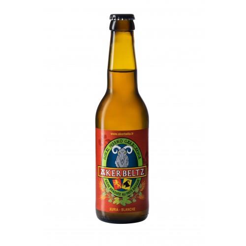 Akerbeltz white Ale Beer 33 cl
