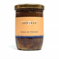 Salmis de Palombe relevé au piment d'Espelette