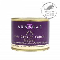 Foie Gras de Canard entier nature (conserve)