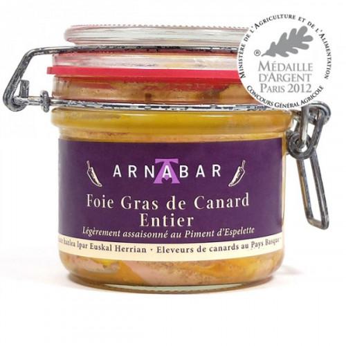 Foie Gras de Canard entier au Piment d'Espelette (verrine)