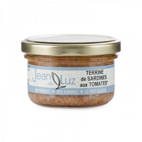 Terrina de sardinas con tomate