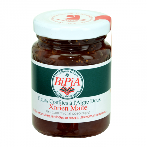 Xorien Maite – Sweet-and-Sour Preserved Fig Chutney