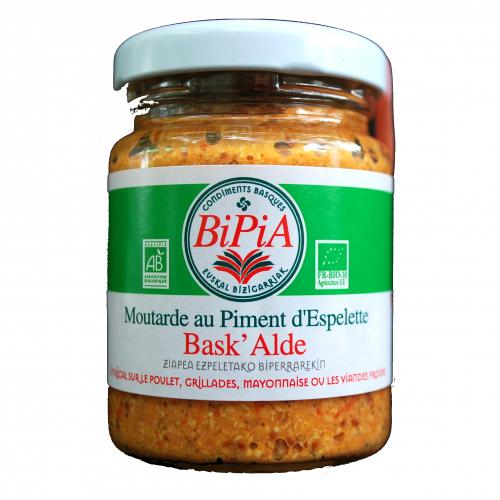 Espelette Chili Pepper Mustard