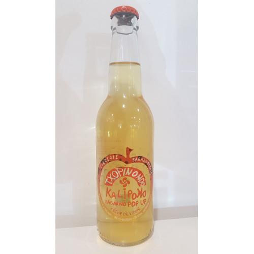 Zumo de manzana Txopito produce en el País Vasco