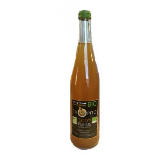 Jus de Pommes Txopito produit au Pays Basque