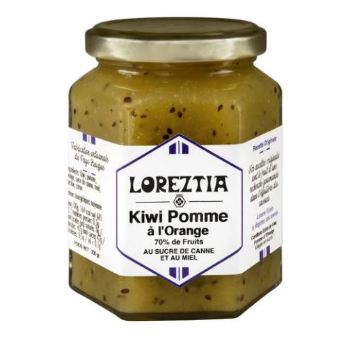 Confiture de Kiwi Pomme à l'Orange