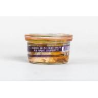 Saumon Bio à l'huile d'olive au piment d'Espelette