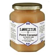 Confiture de poire, caramel au beurre salé