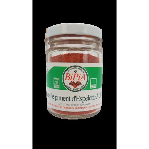 Organic Espelette Chili  pepper Powder with PDO