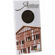 Tablette chocolat noir au piment d'Espelette