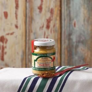 fabrication moutarde piment d'espelette